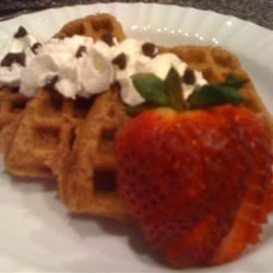 Chocolate Waffles II thedailygourmet