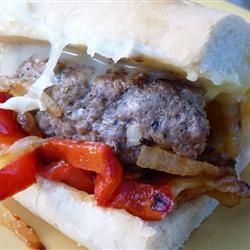 Grilled Italian Hamburgers ROBINBRADY