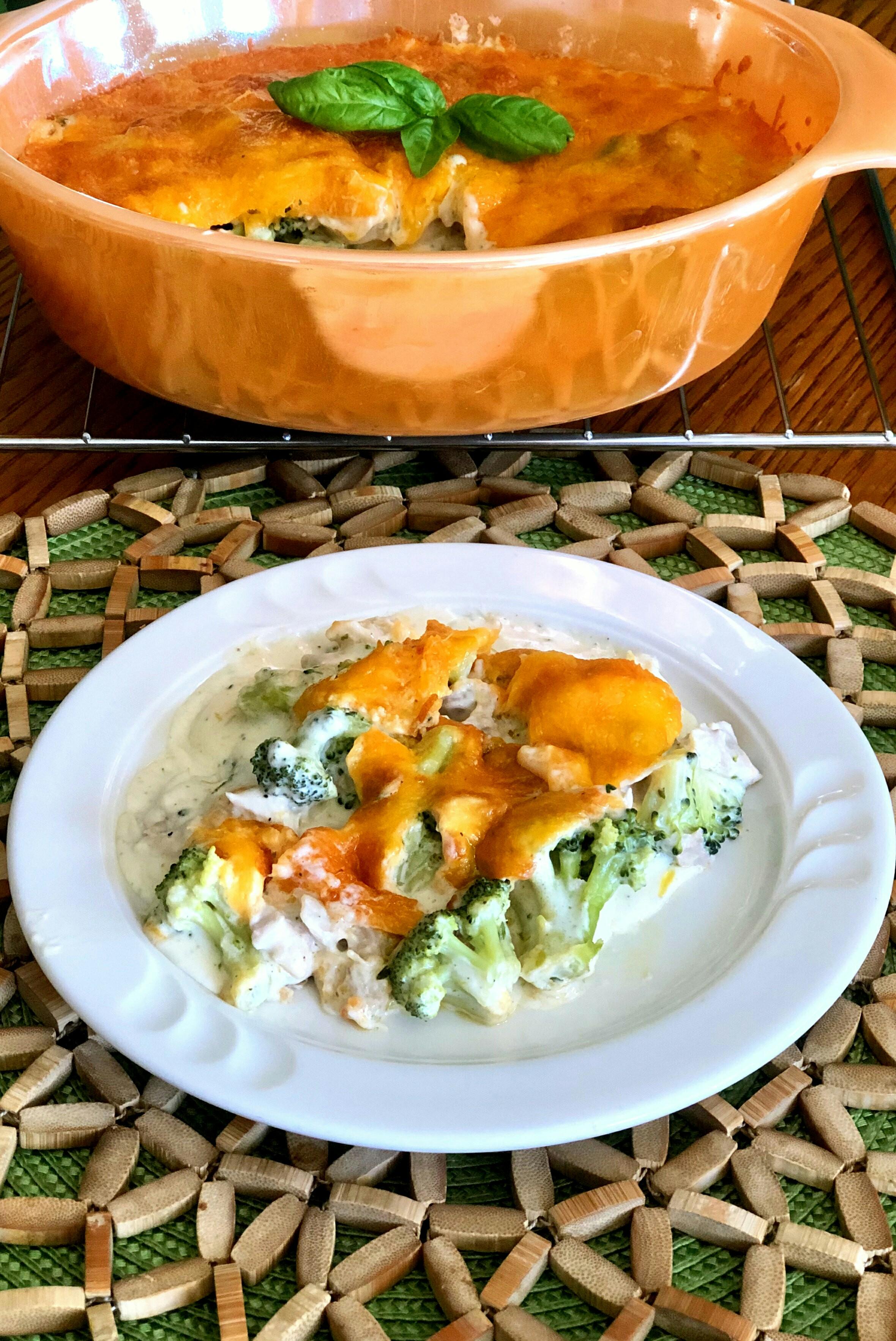 Keto Chicken-Broccoli Casserole image
