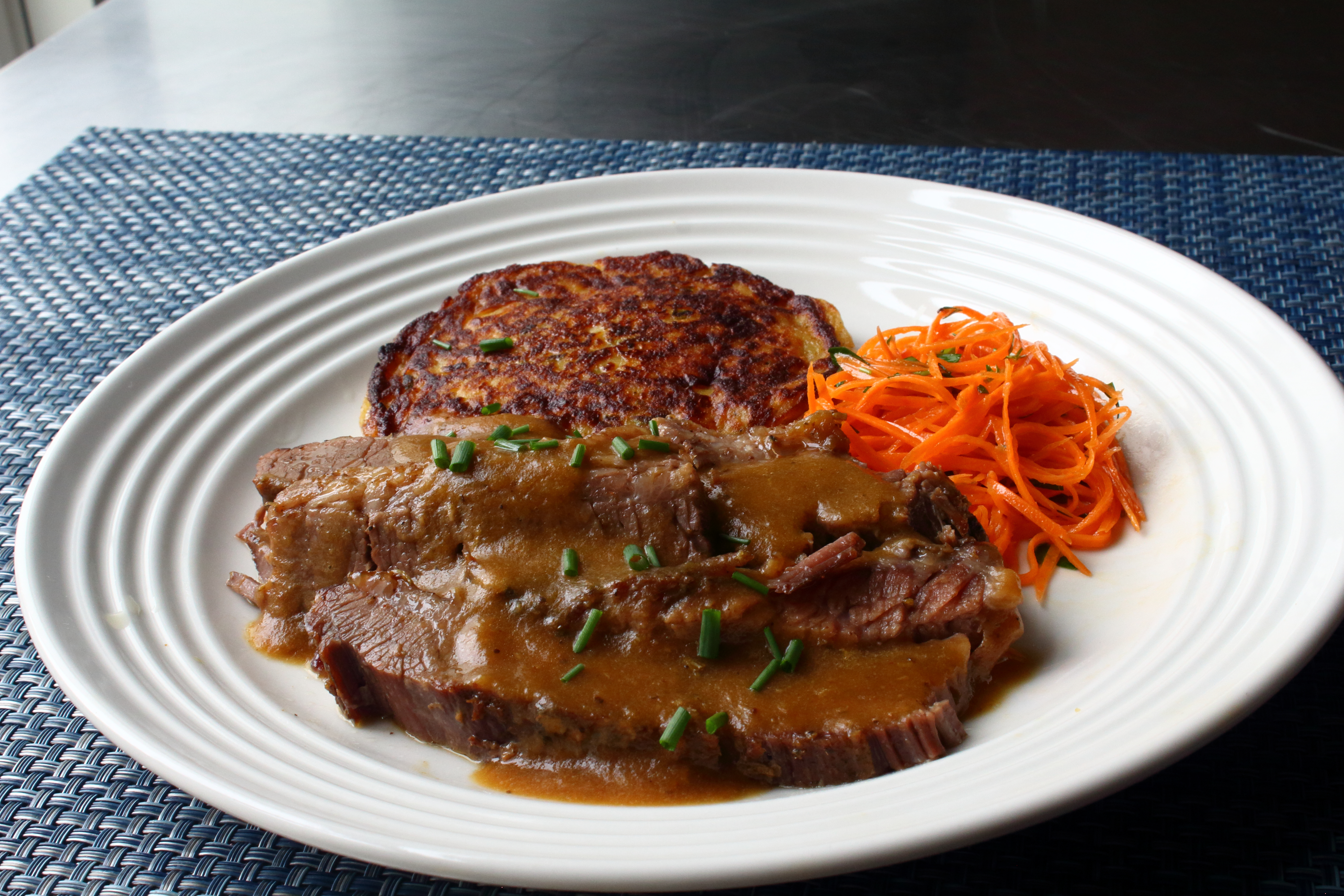 Easy Baked Beef Brisket image