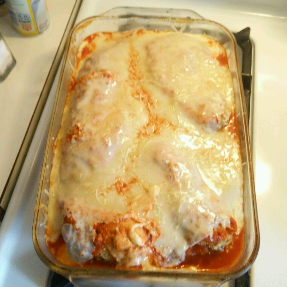 Chicken Parmigiana Haley Sprague