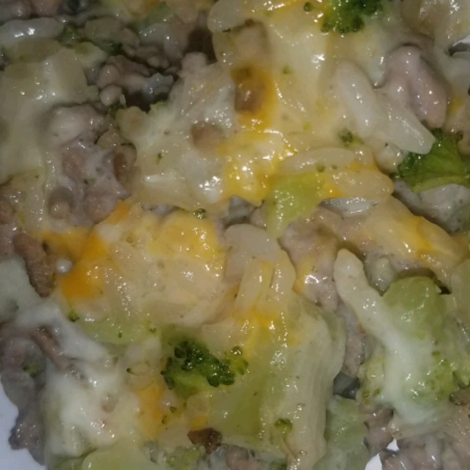 Broccoli Casserole with Rice