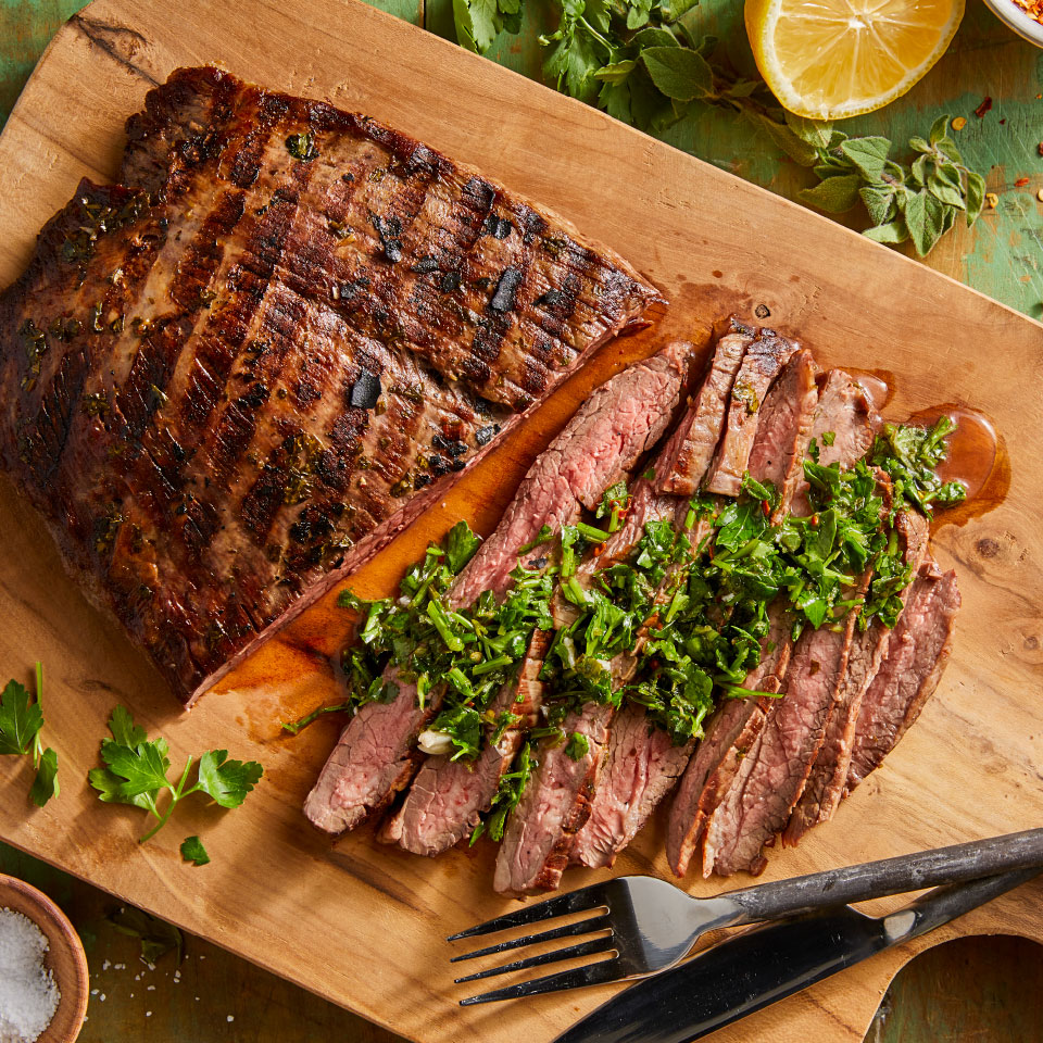Grilled Steak with Chimichurri Andrea Kirkland M.S., RD
