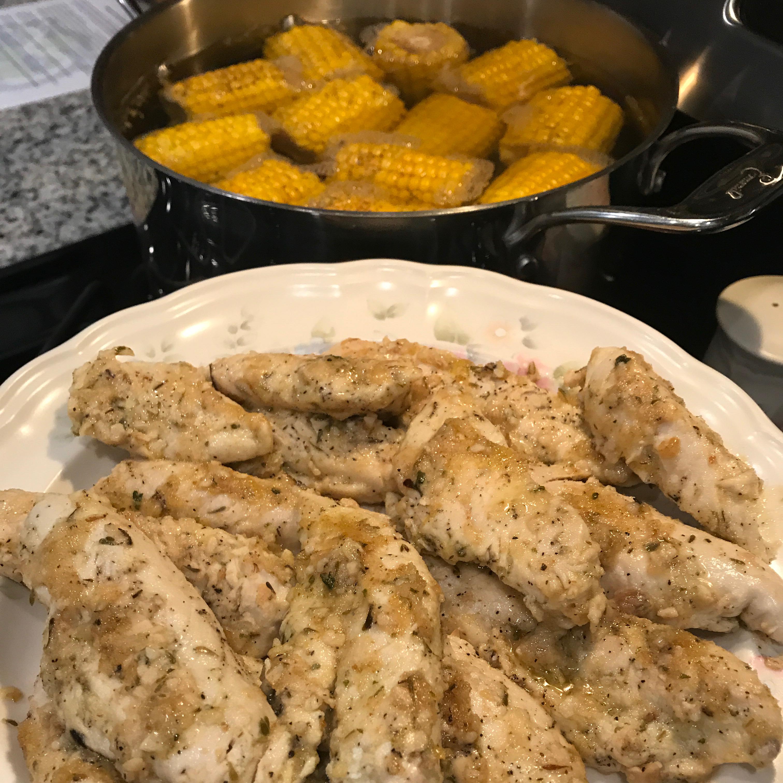 Lemon Thyme Chicken Tenders NeeNee