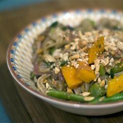 Thai Peanut Noodle Stir-Fry