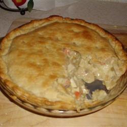 Chicken Pot Pie on the Run