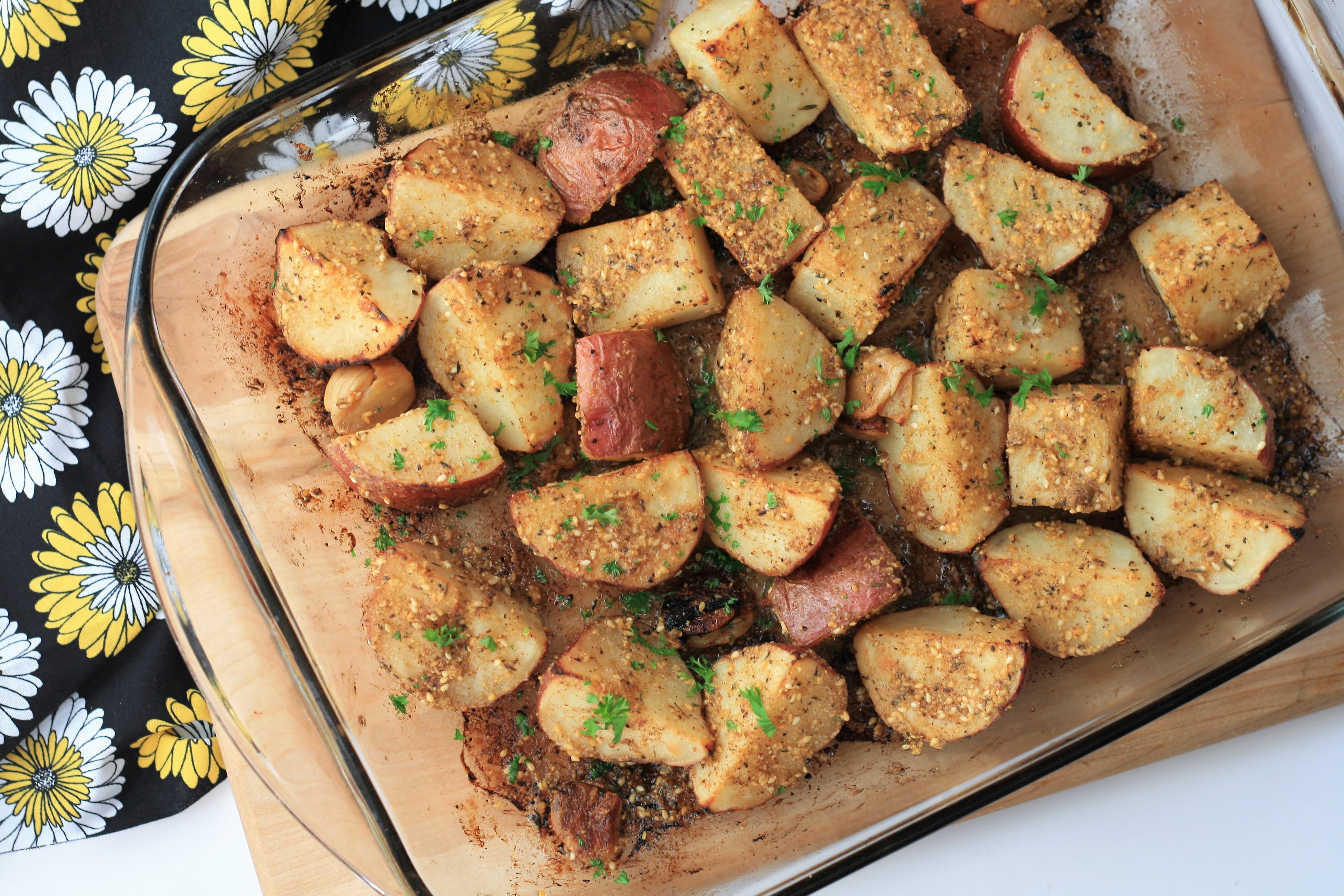 Dukkah Roasted Potatoes