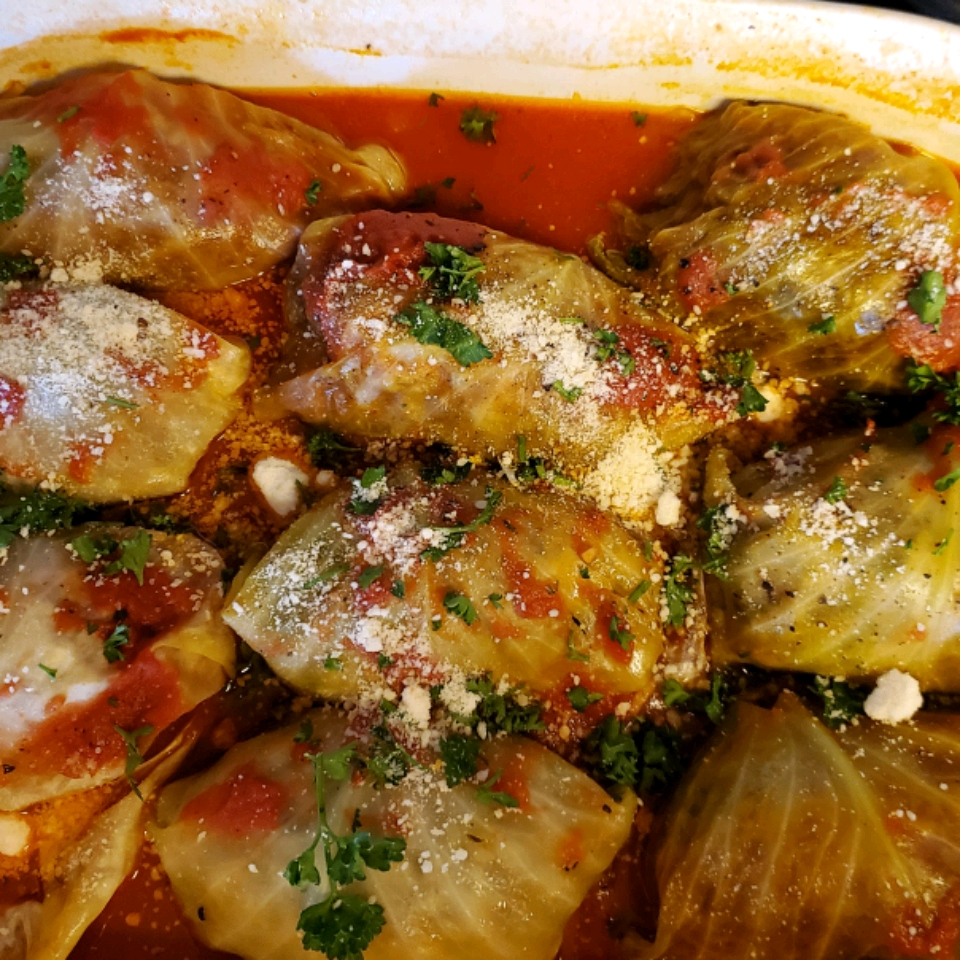 Lamb and Rice Stuffed Cabbage Rolls Kimberly Curtis Mallory