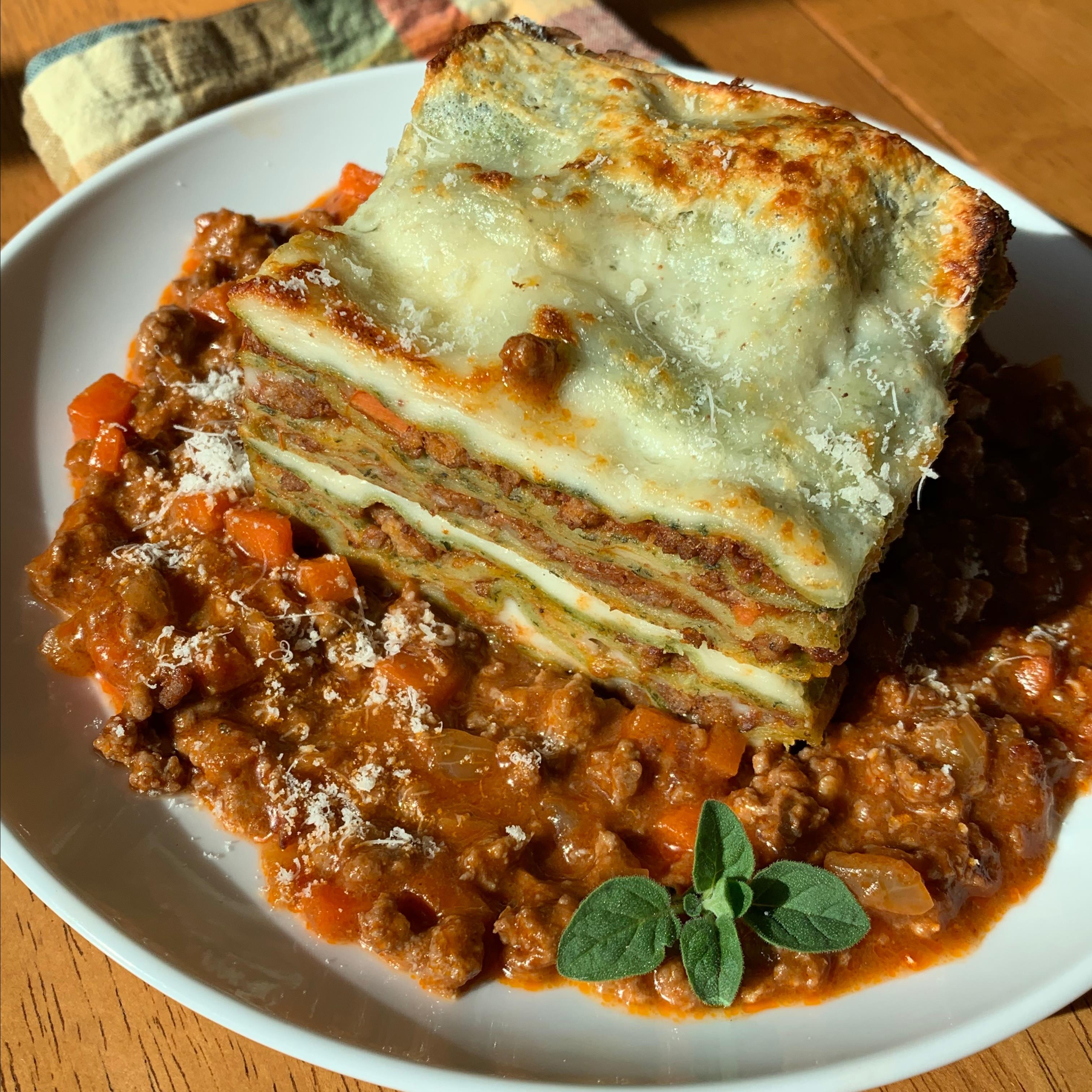 Ricetta Lasagne Verdi Alla Bolognese.Lasagne Verdi Alla Bolognese Recipe Allrecipes