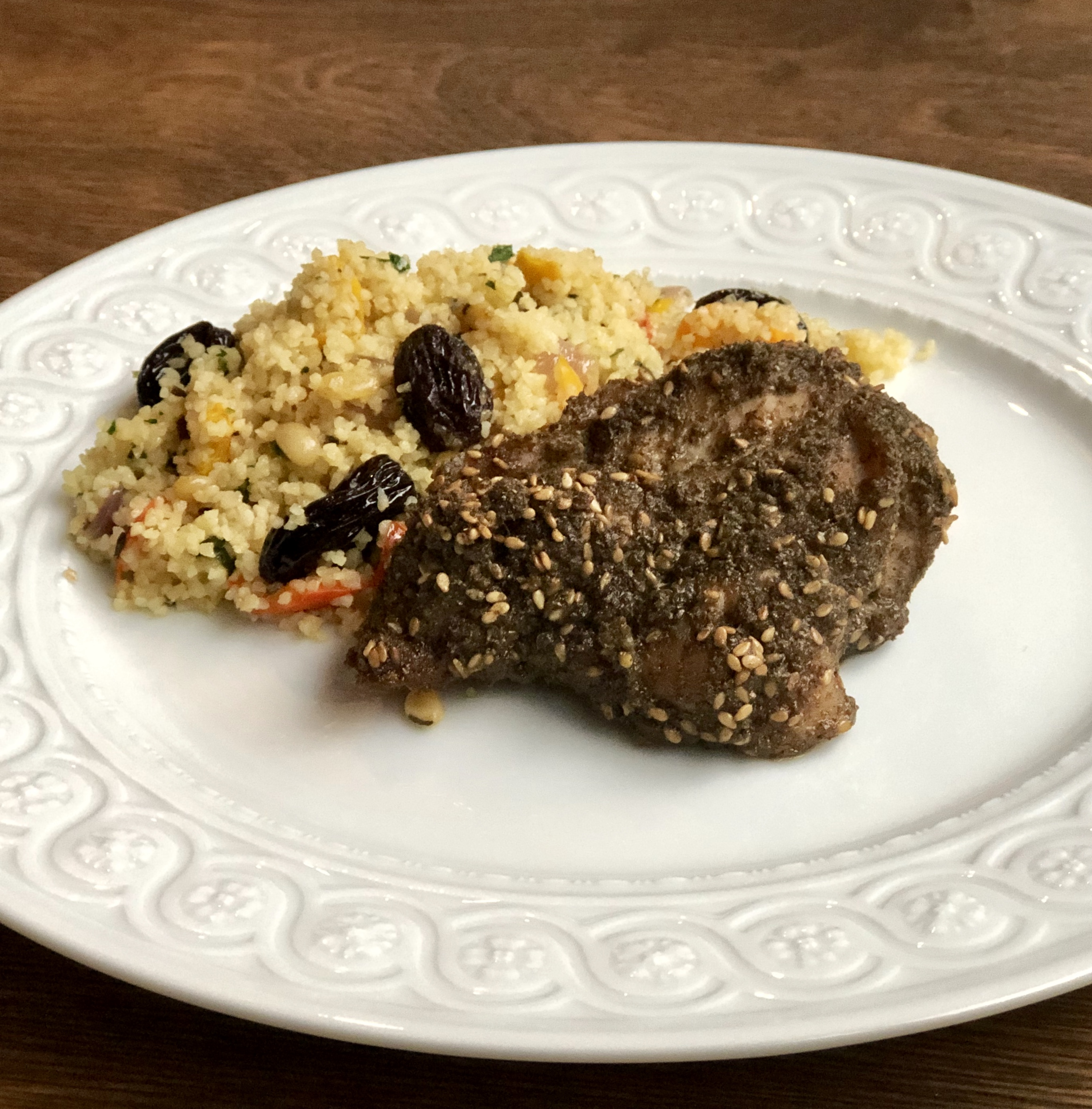 Baked Za'atar Chicken Thighs Diana Moutsopoulos