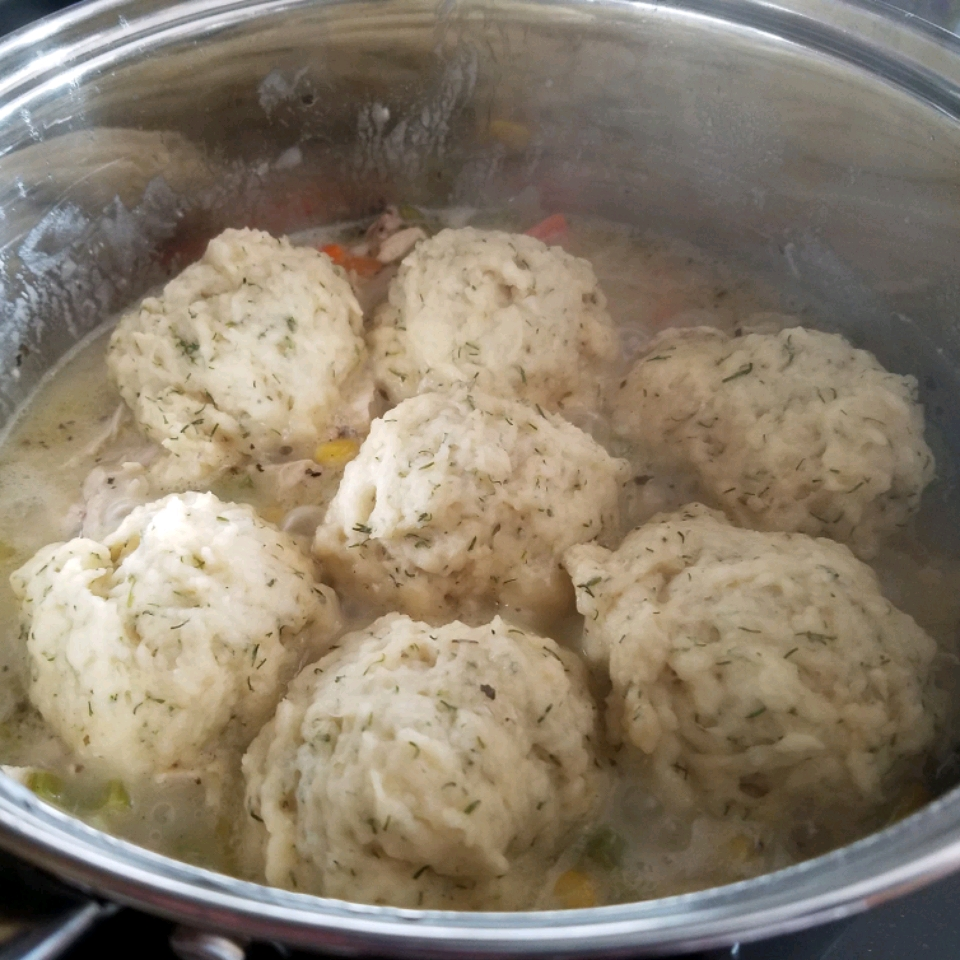 Chicken Stew with Dumplings Donna Price