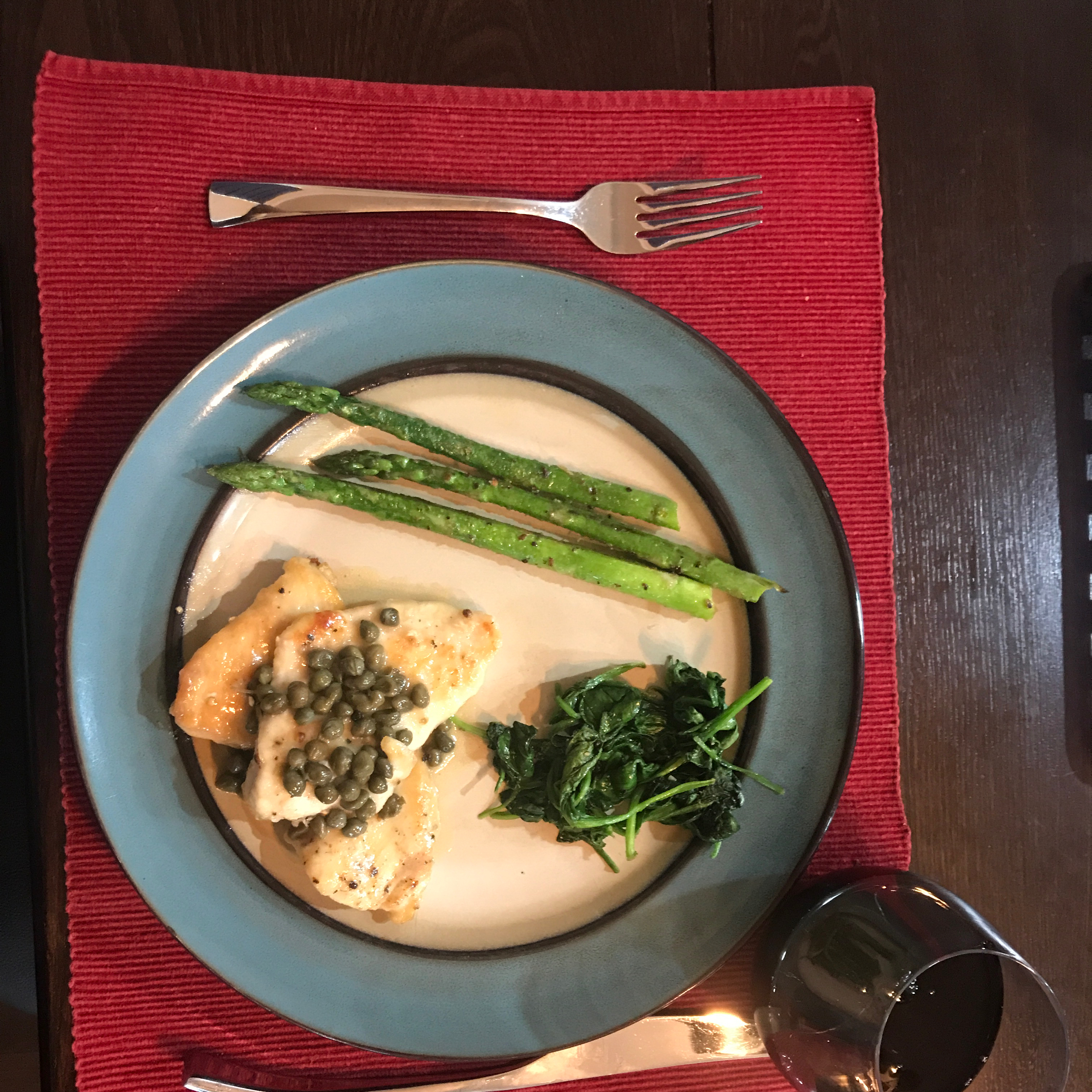 Chicken with Lemon-Caper Sauce Foodie Sue