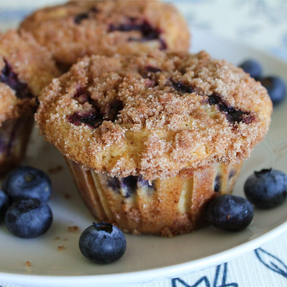 To Die For Blueberry Muffins - Printer Friendly