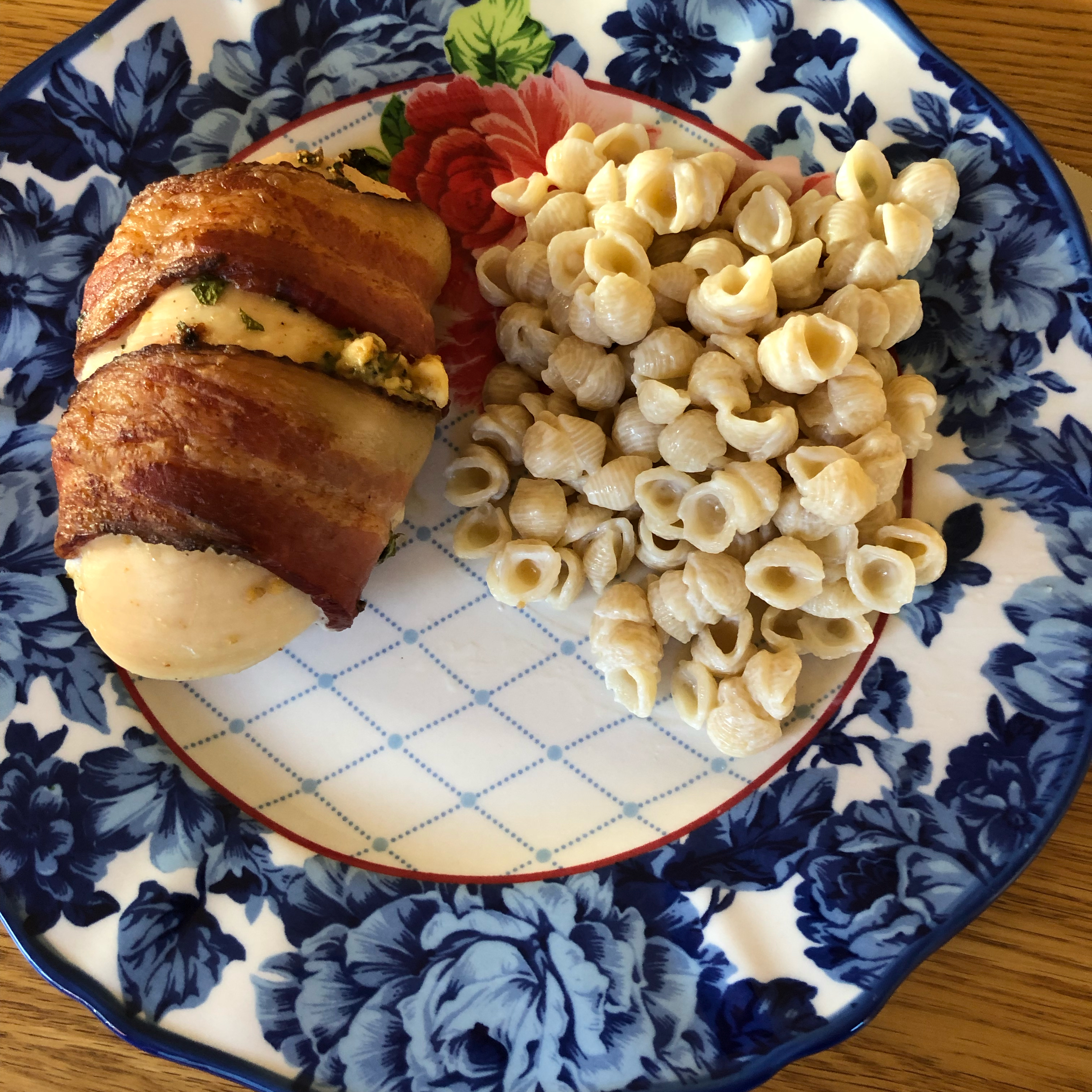 Bacon-Wrapped Spring Chicken