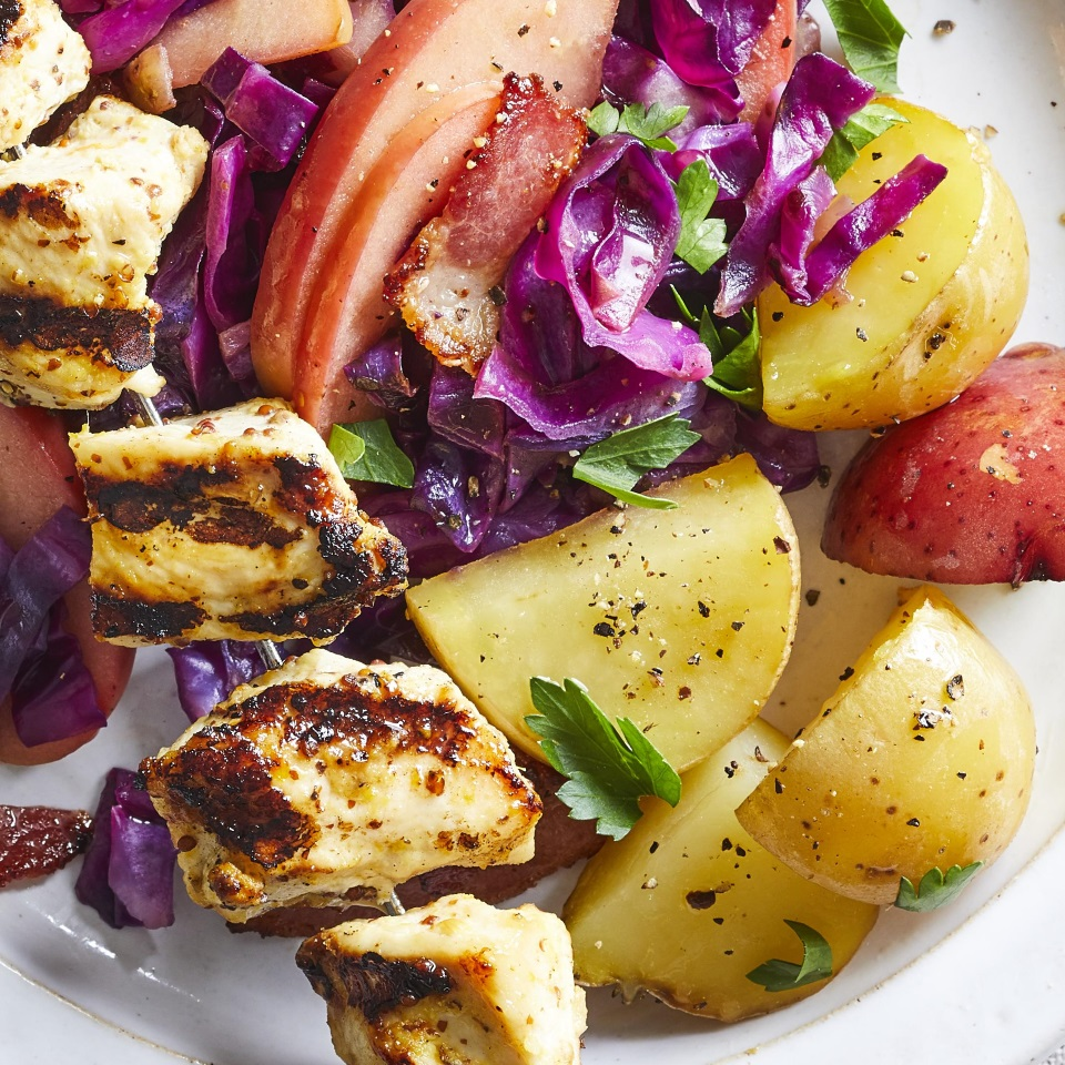 Packet-Grilled Potatoes Diabetic Living Magazine