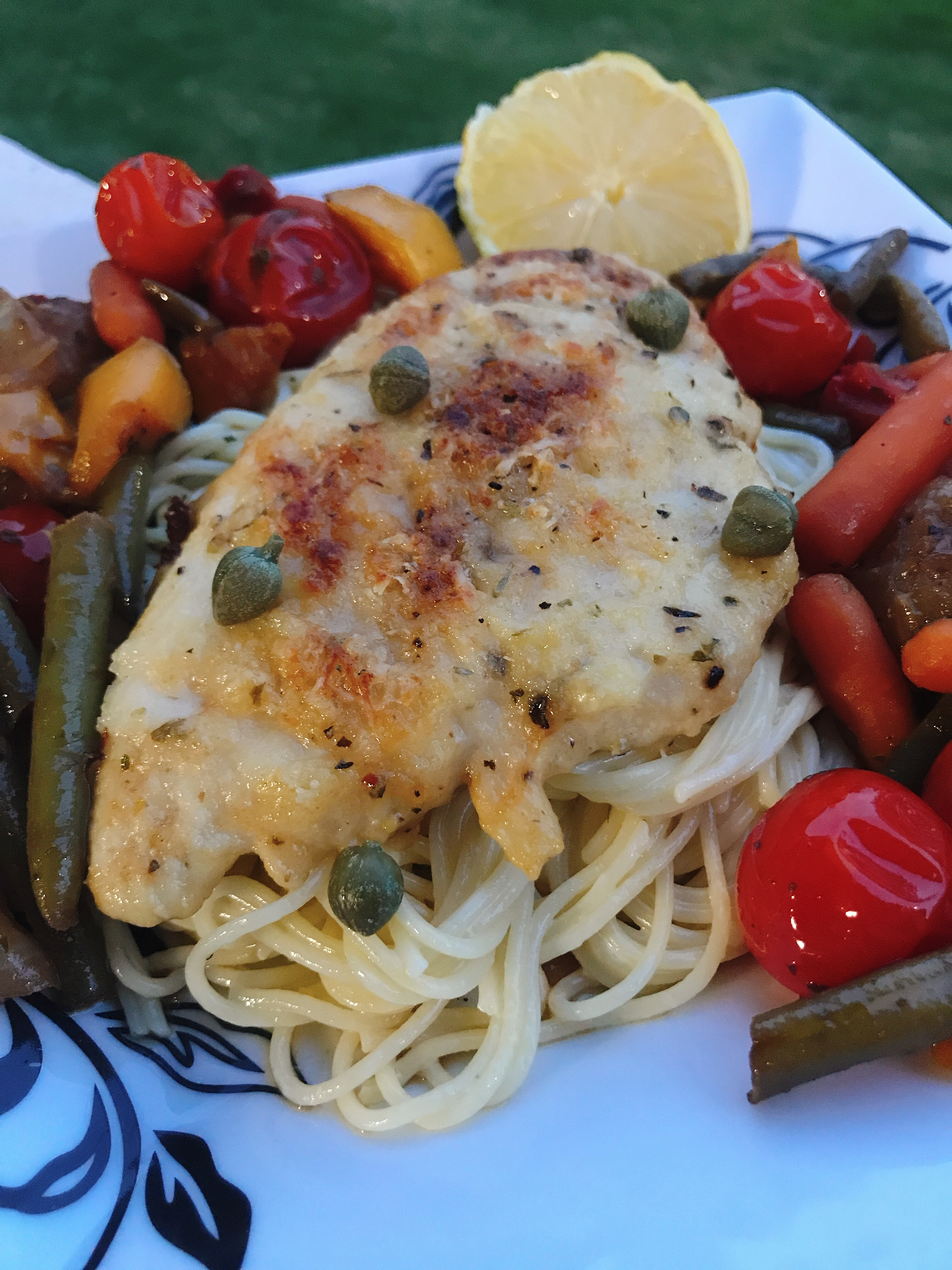 Oven-Baked Chicken Piccata thedailygourmet
