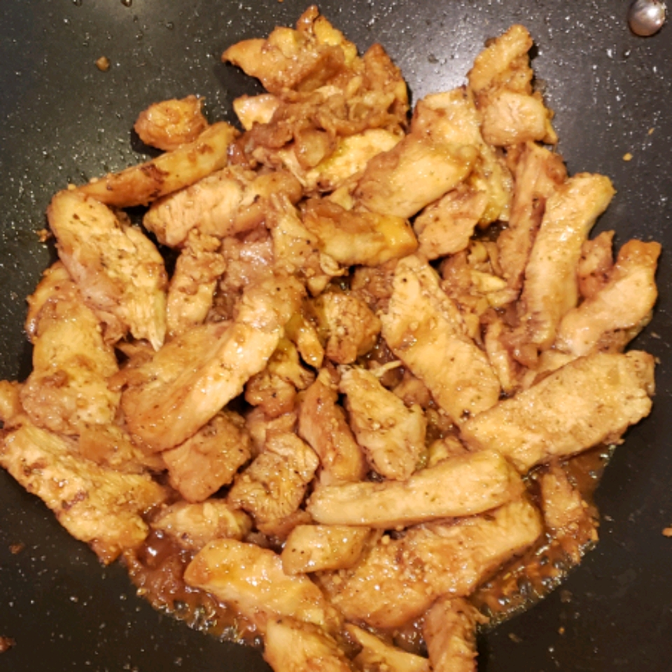 Asian-Inspired Honey-Vanilla Chicken LaChefMadam