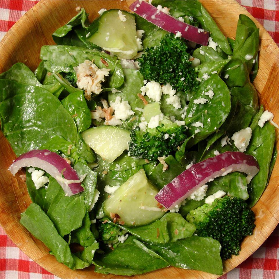 Spinach Ranch Salad JULICHICKY