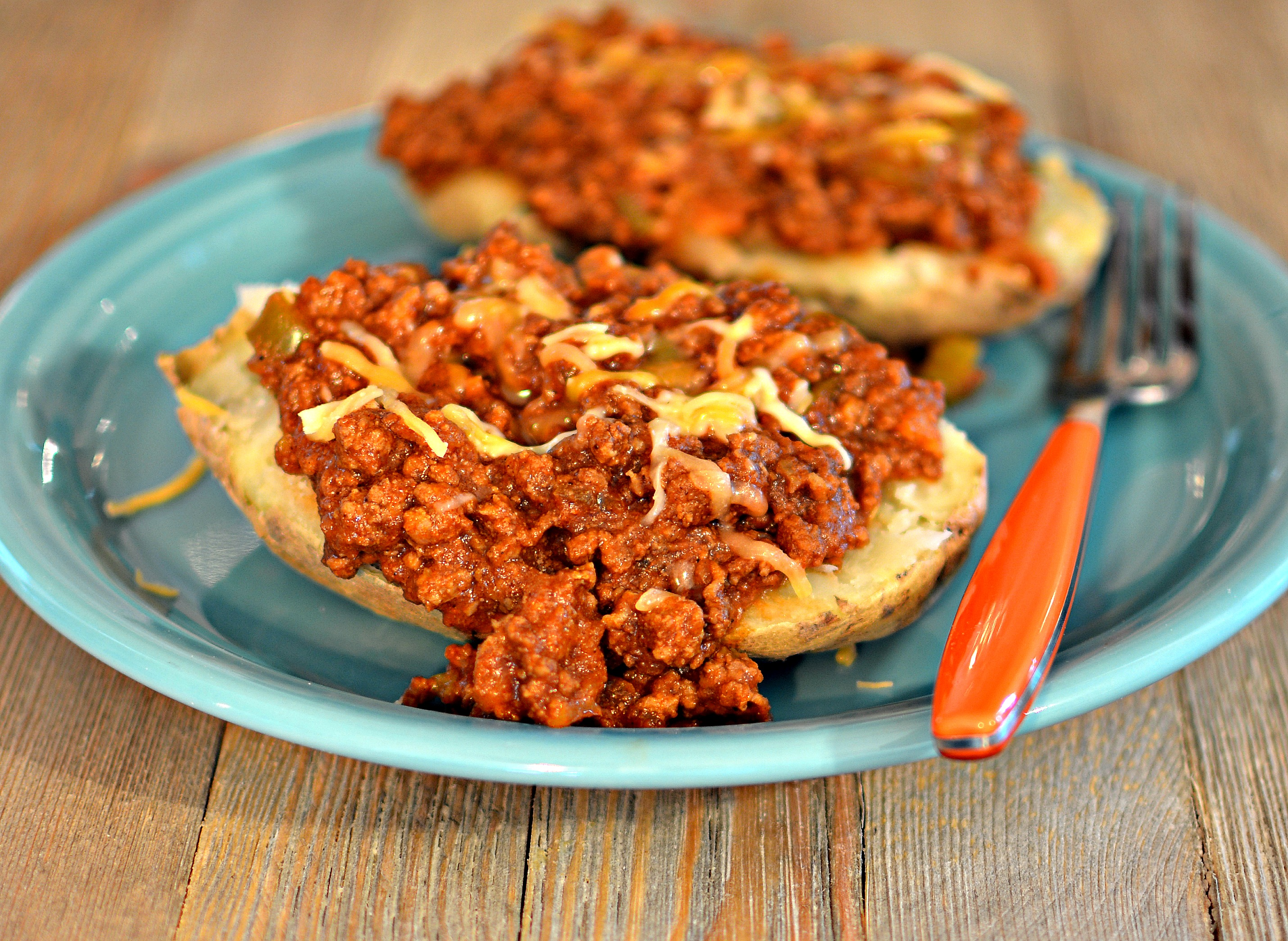 Sloppy Joe Baked Potatoes Recipe Allrecipes