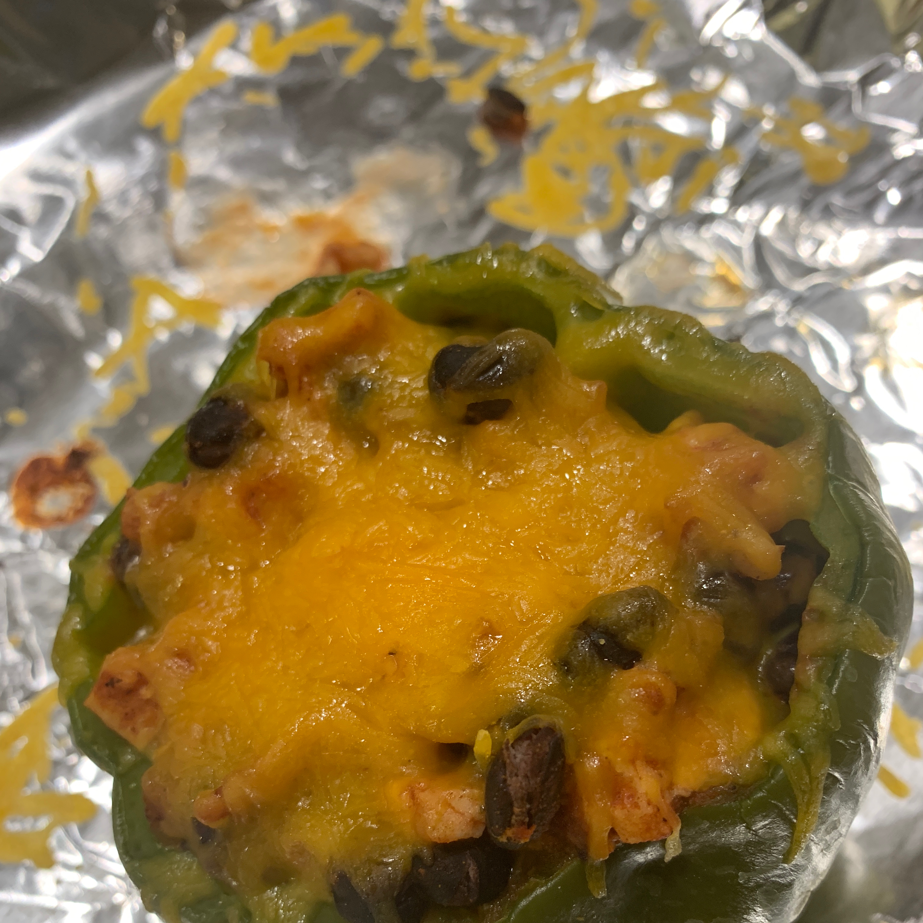 Southwestern Stuffed Bell Peppers (Low Carb)