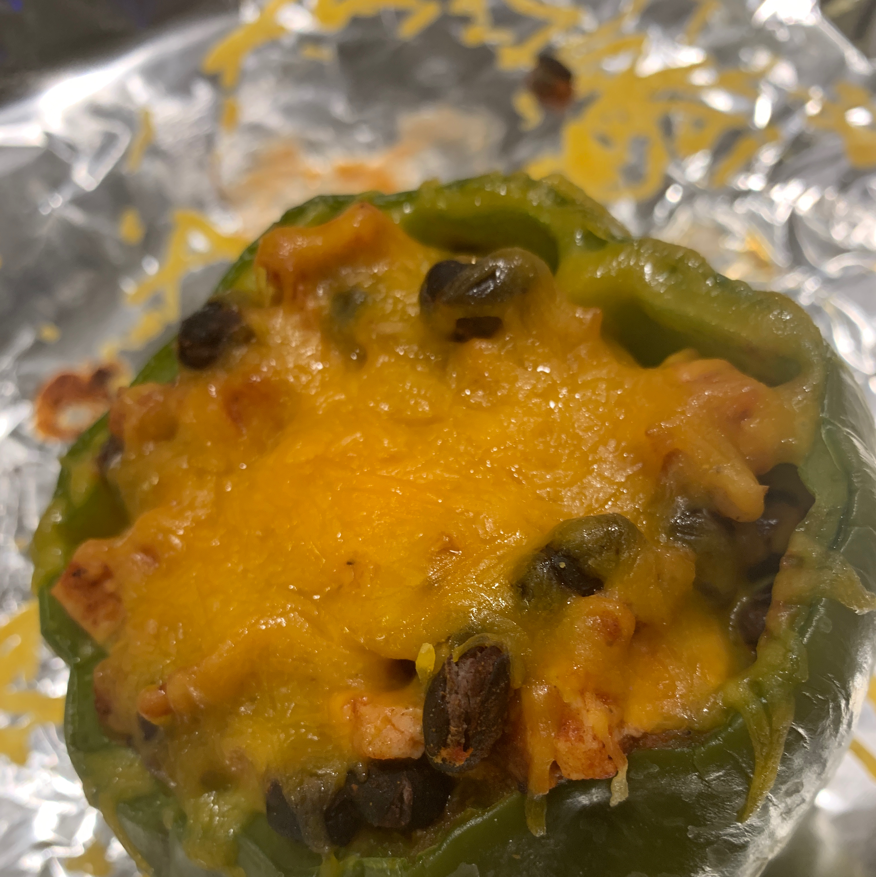 Southwestern Stuffed Bell Peppers (Low Carb) Bri