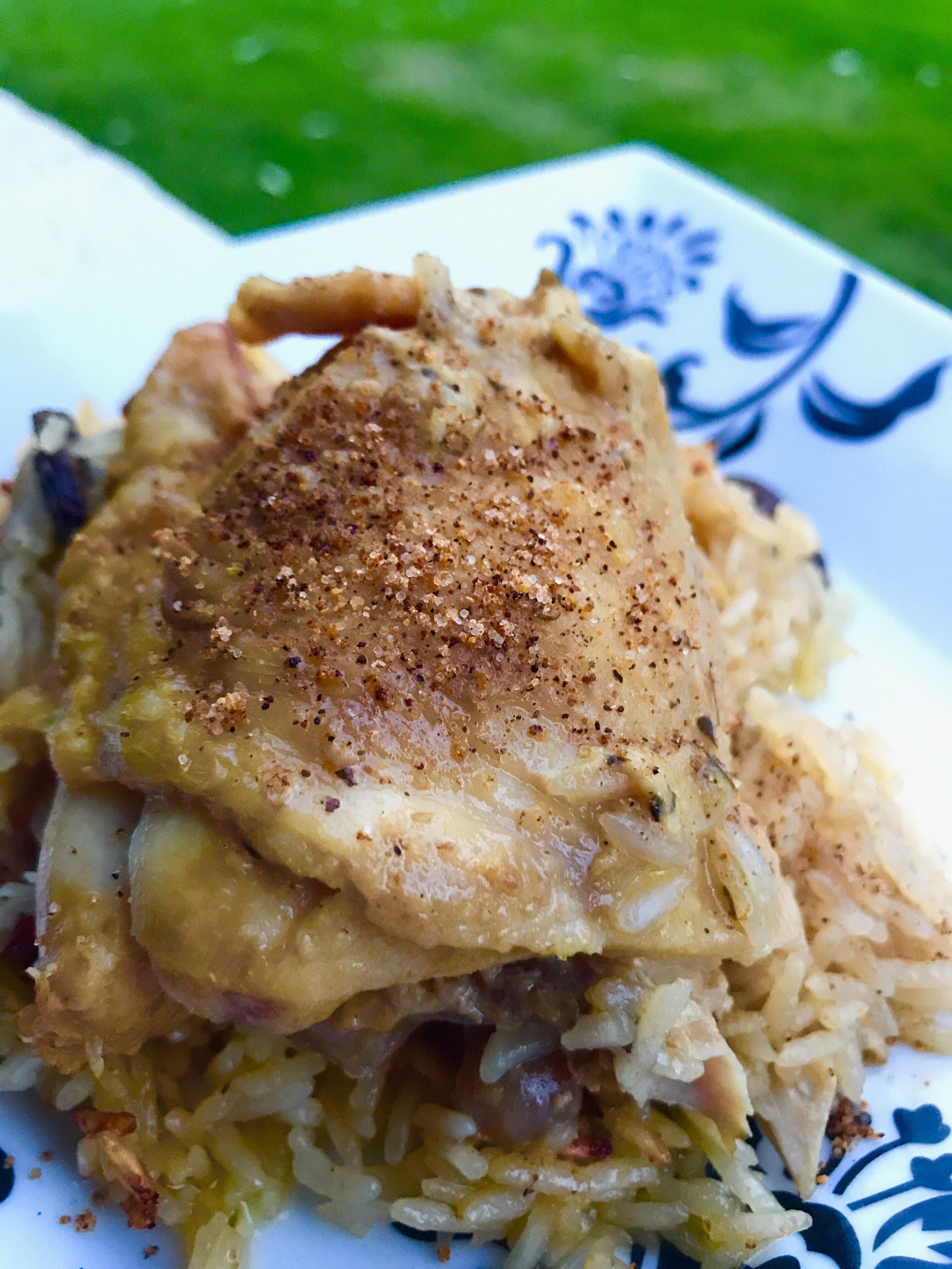 Instant Pot(R) Maple-Dijon Chicken Thighs