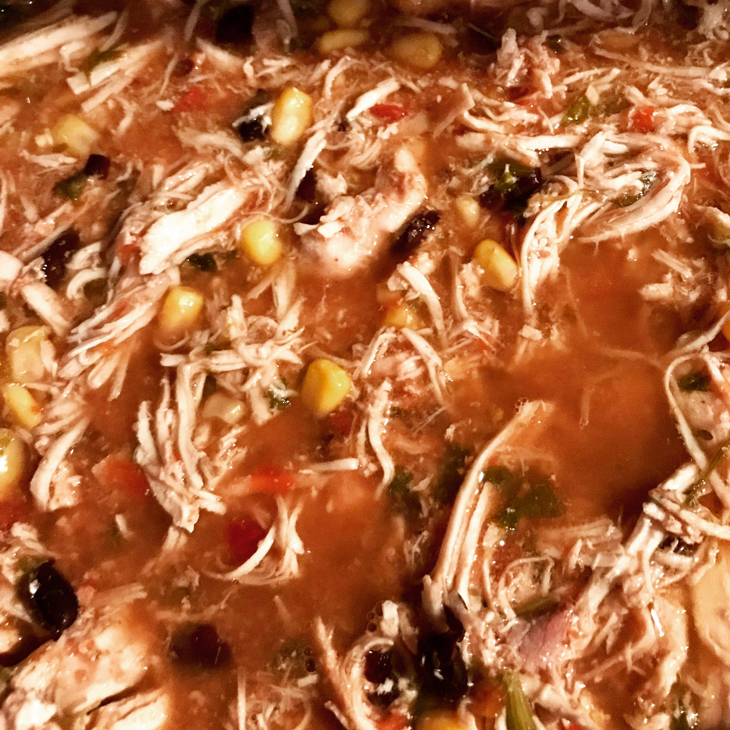 Slow Cooker Low-Carb Santa Fe Chicken