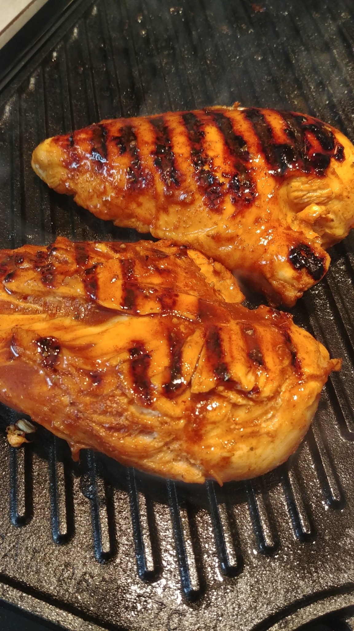 Grilled Maple-Chipotle Chicken Amelia