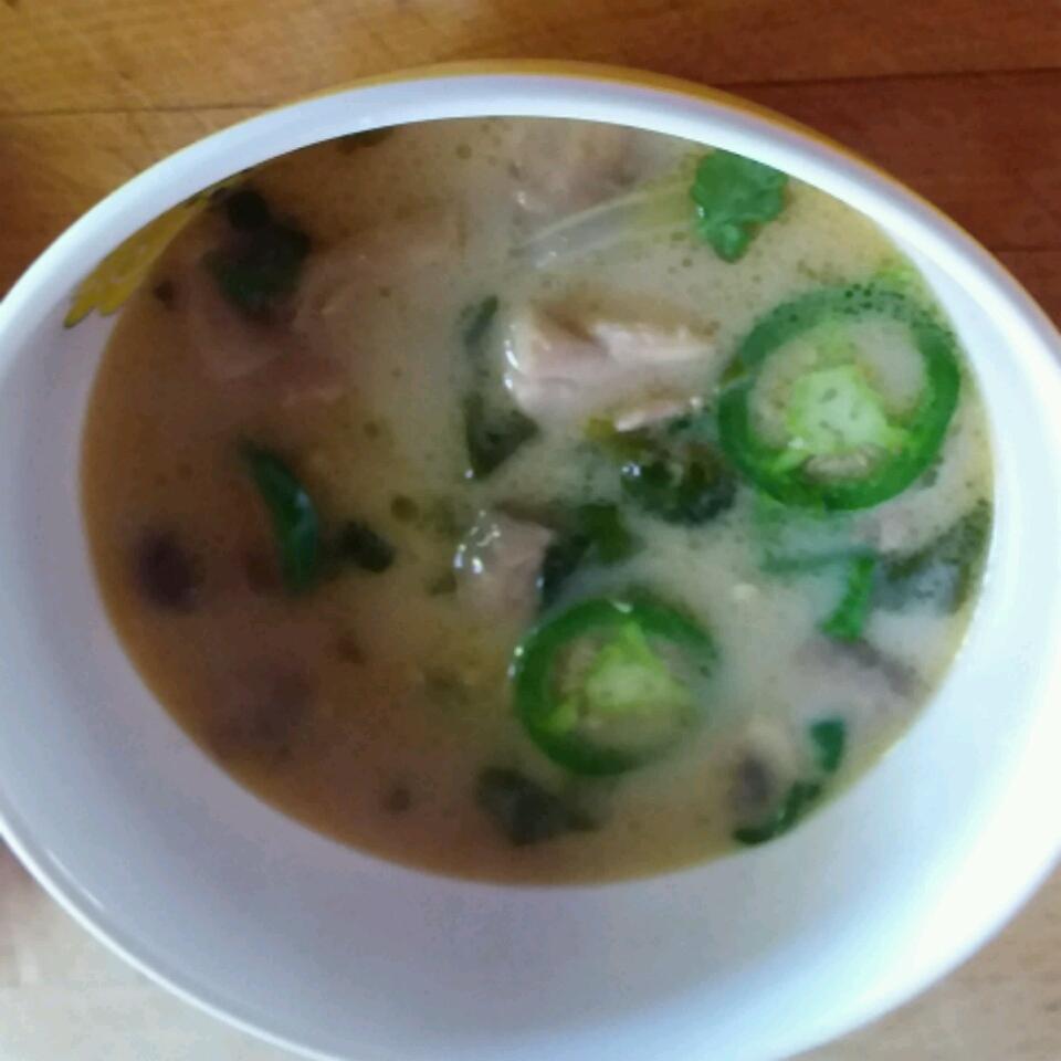 Spicy Chicken Thai Soup Cherylinutica