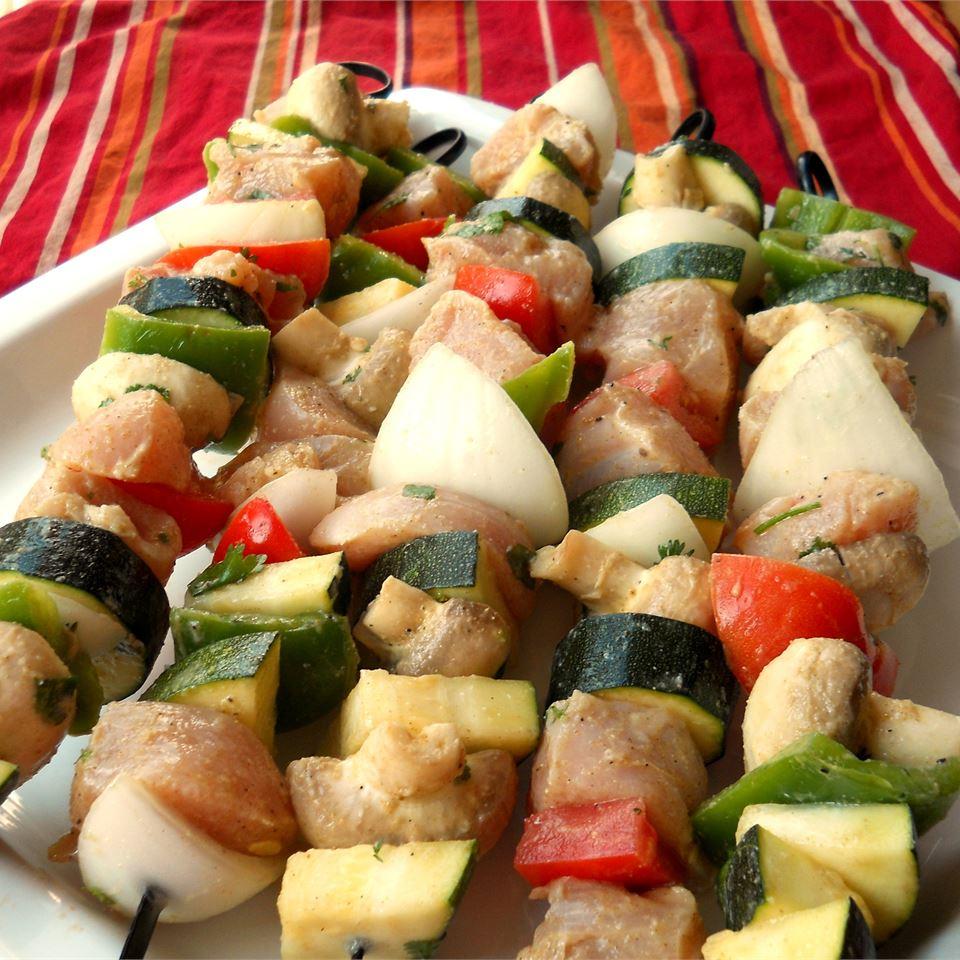 Chicken Kabobs Mexicana CookinBug