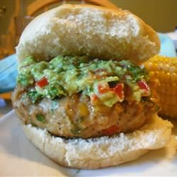 Green Chili Chicken Burgers Jog Dish