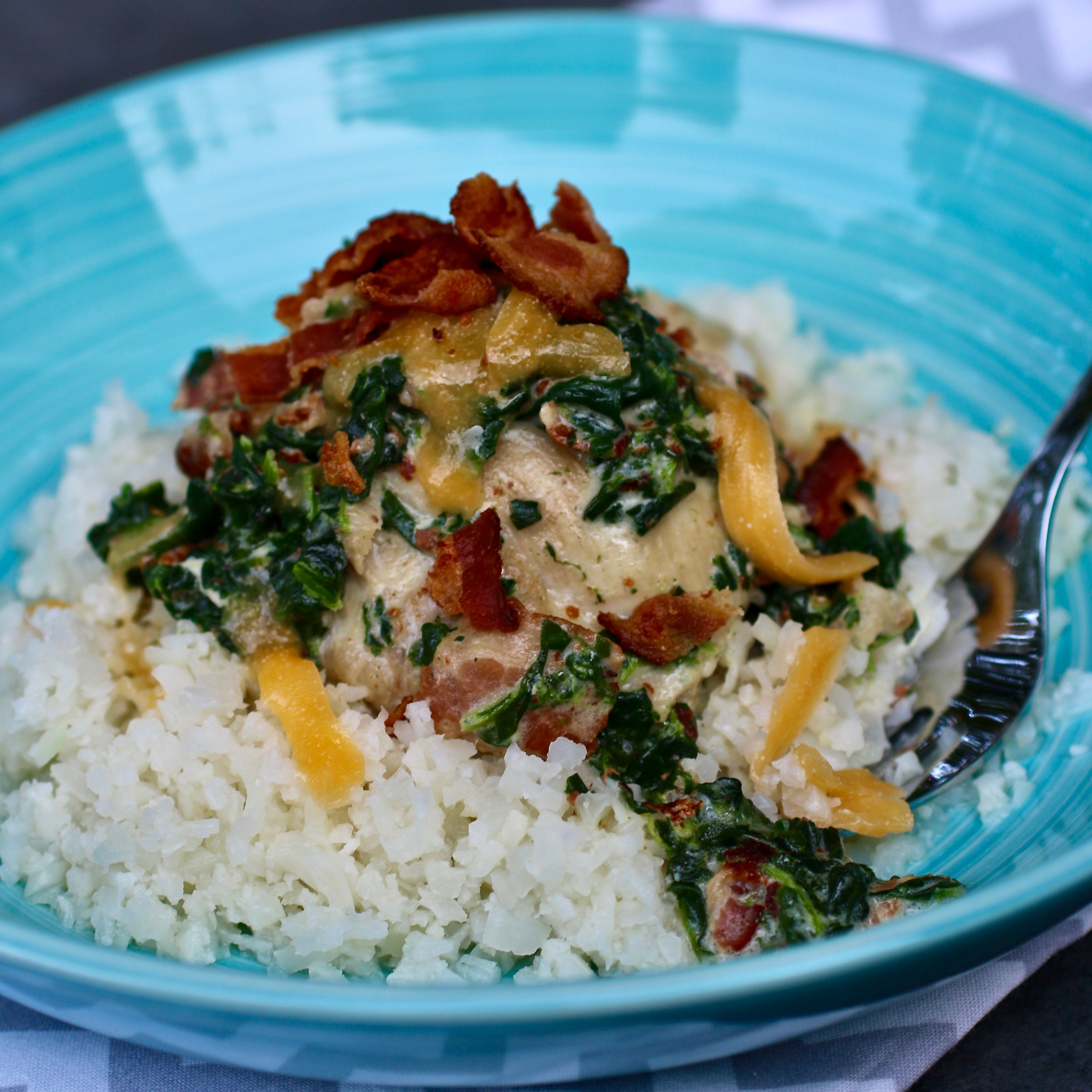 Instant Pot(R) Bacon-Ranch Chicken Thighs