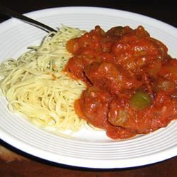 Beef Parmesan with Garlic Angel Hair Pasta Java_Girl
