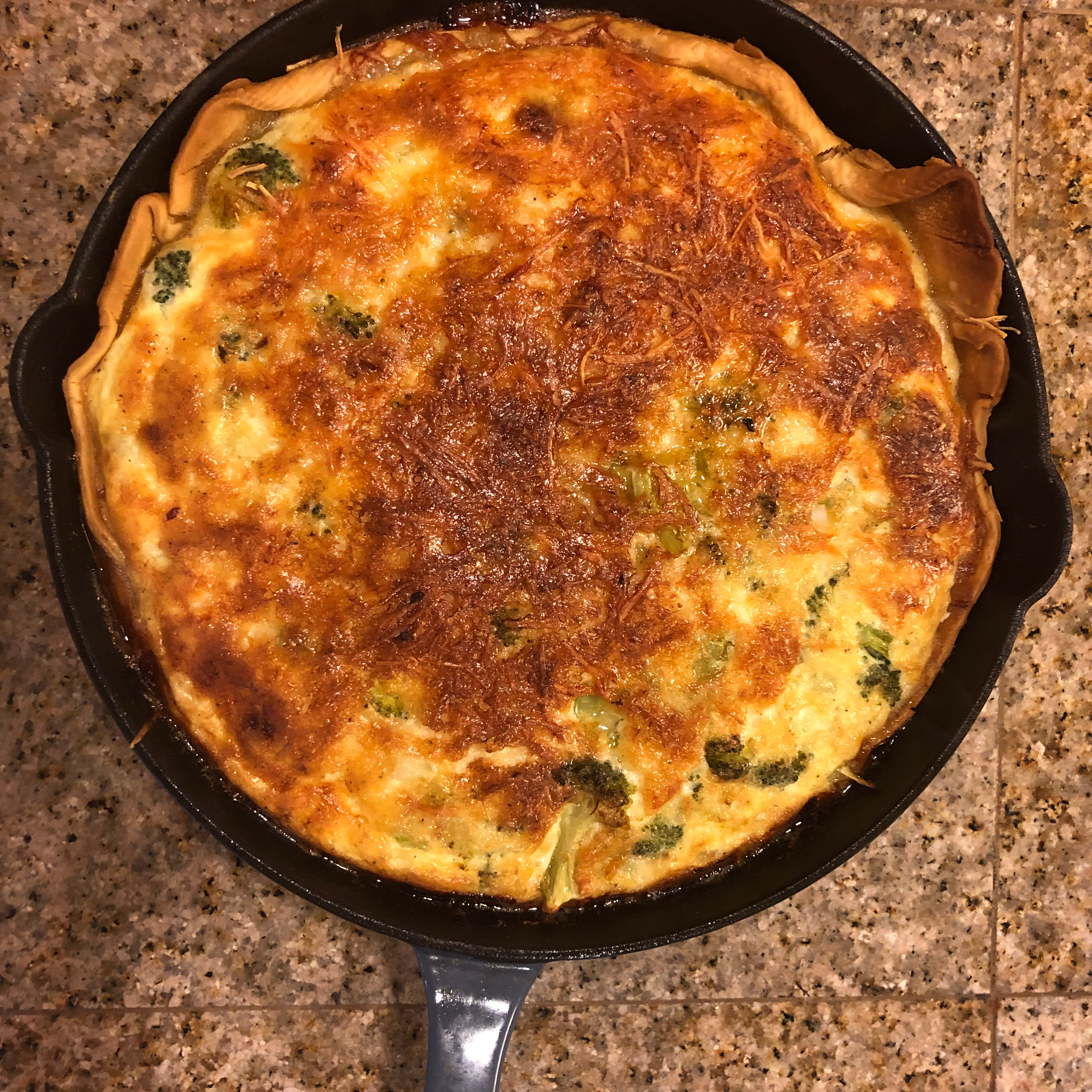 Easy Broccoli Quiche Amie Brown