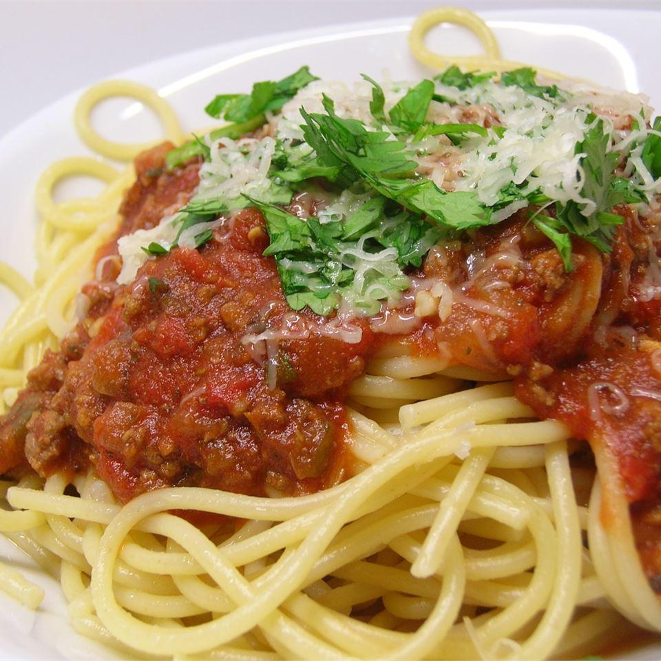 Spaghetti Sauce with Ground Beef image