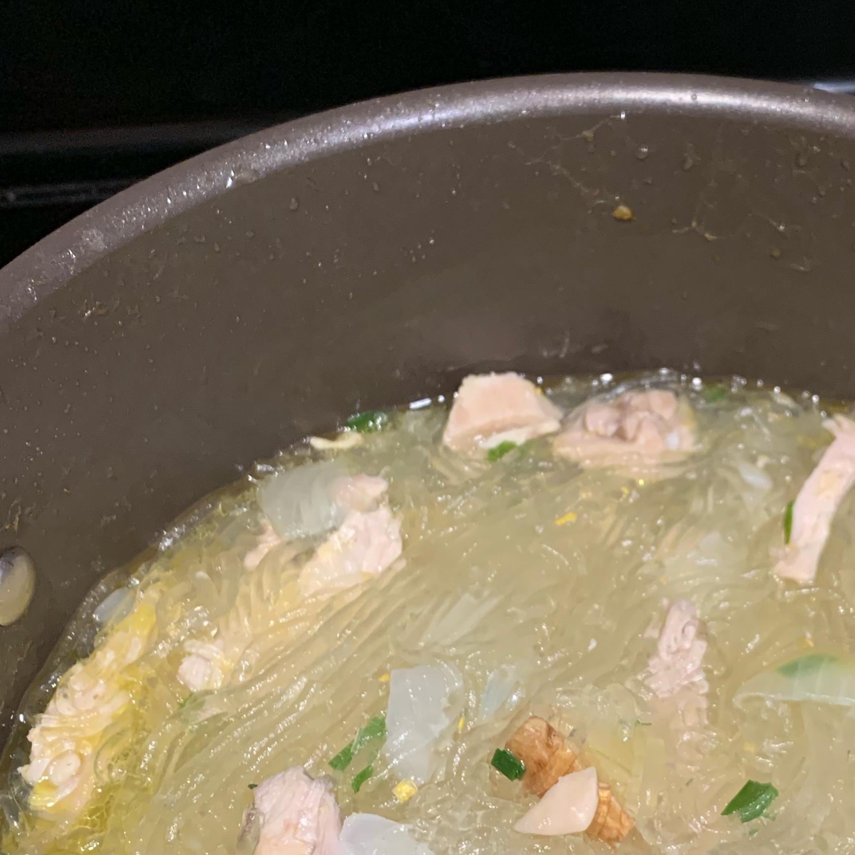 Chicken Long Rice Soup jtabarejo