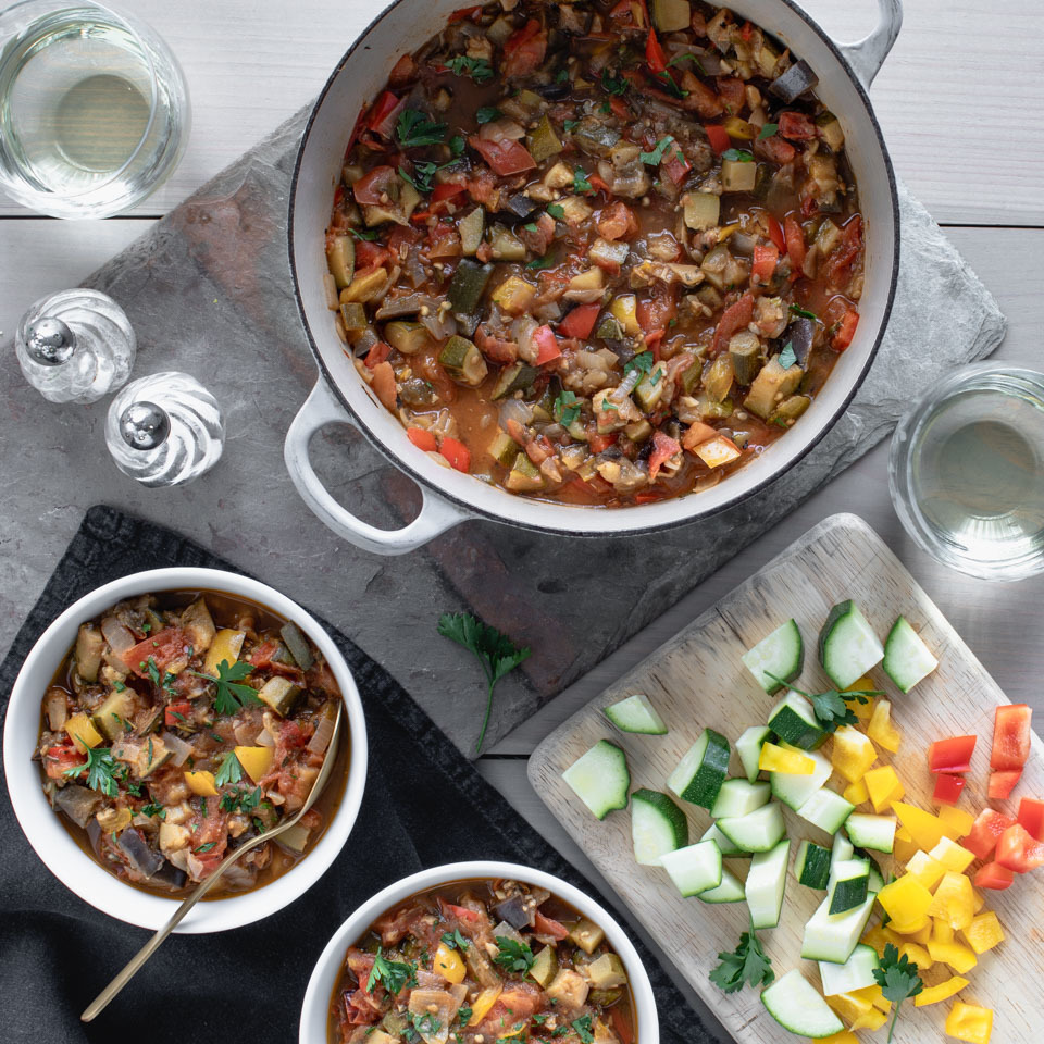 Bursting with fresh vegetables, this classic Provençal stew is wonderful with eggs, pasta or grilled fish.