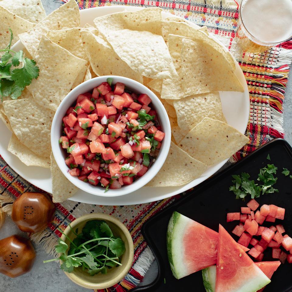 Watermelon Salsa EatingWell Test Kitchen