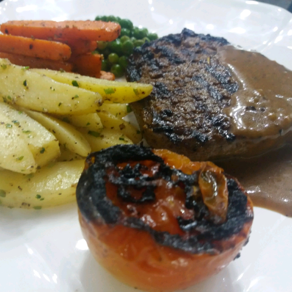 Beef Pepper Steak Talha Bhatti