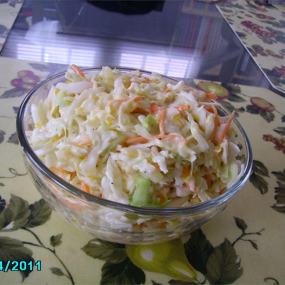 Hawaiian Coleslaw