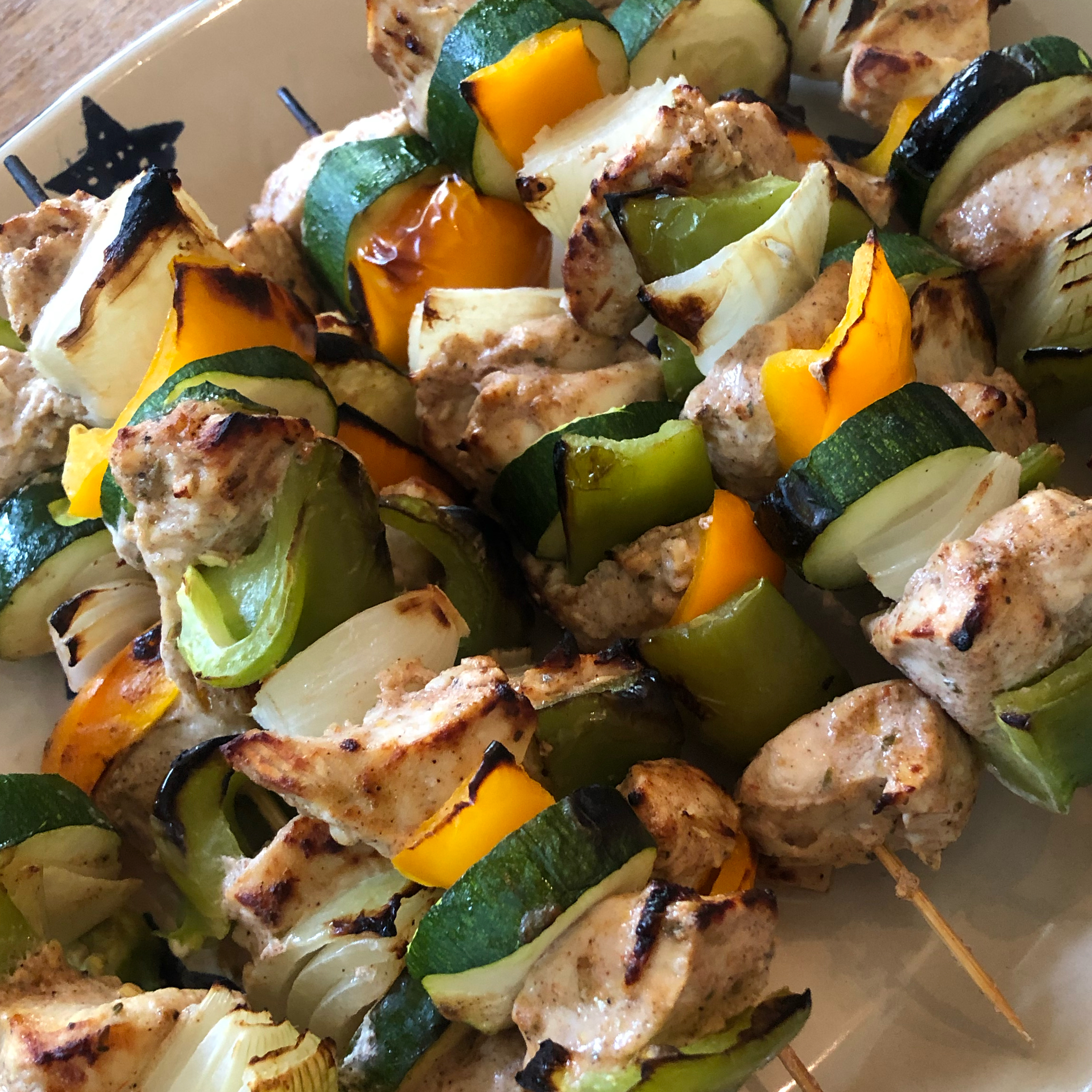 Shish Tawook Grilled Chicken Hungrymom13
