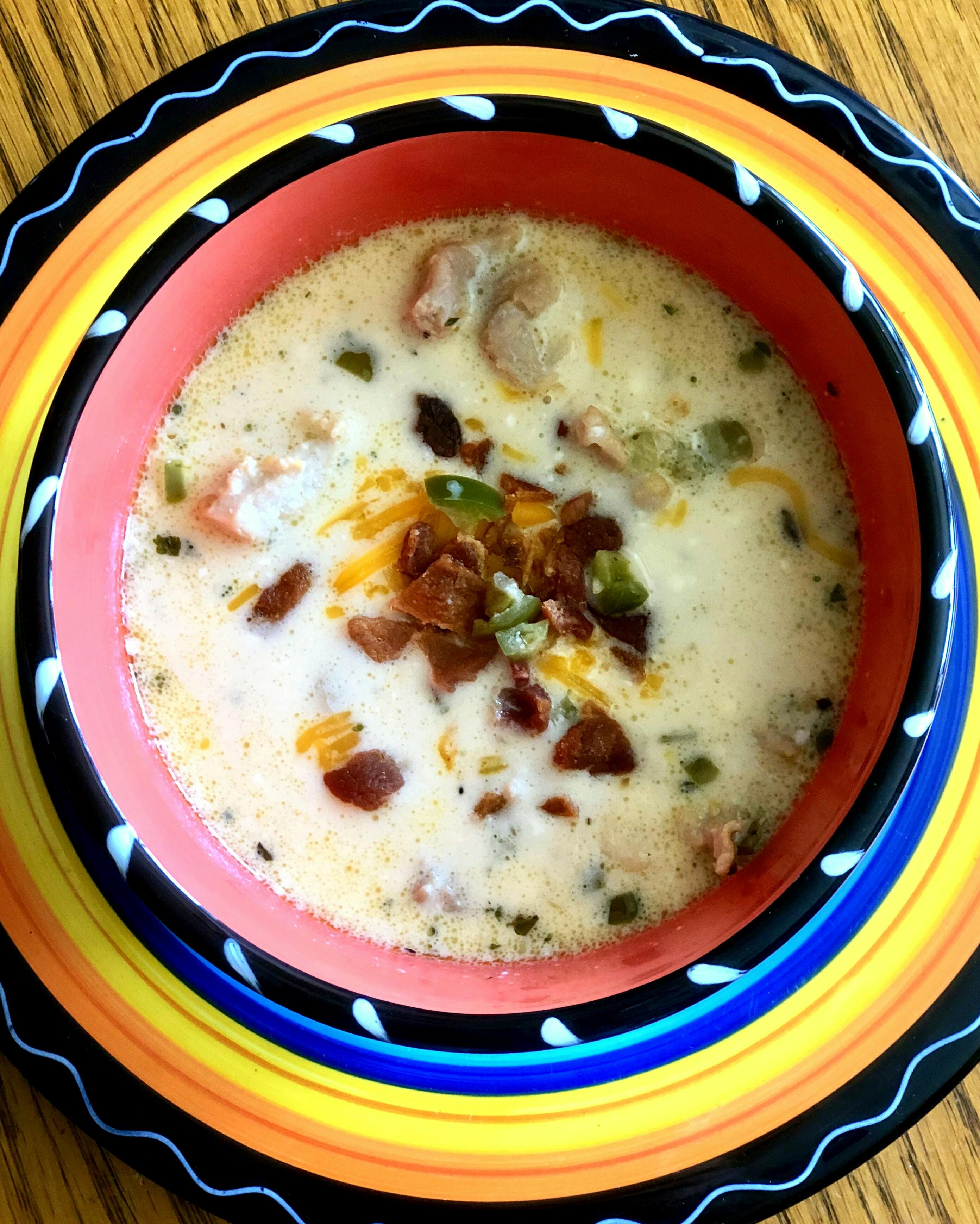 Jalapeno Popper Soup image