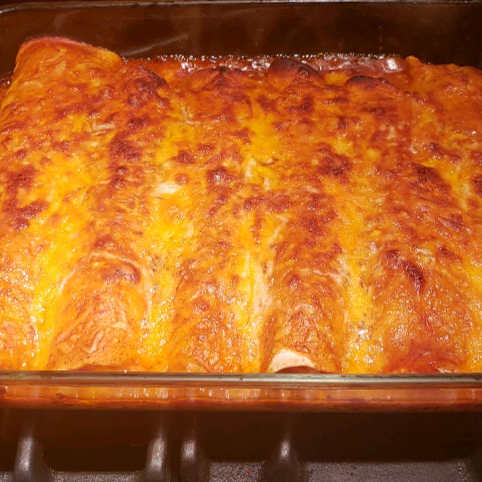 Bacon-Ranch Chicken Enchiladas Jackie  O