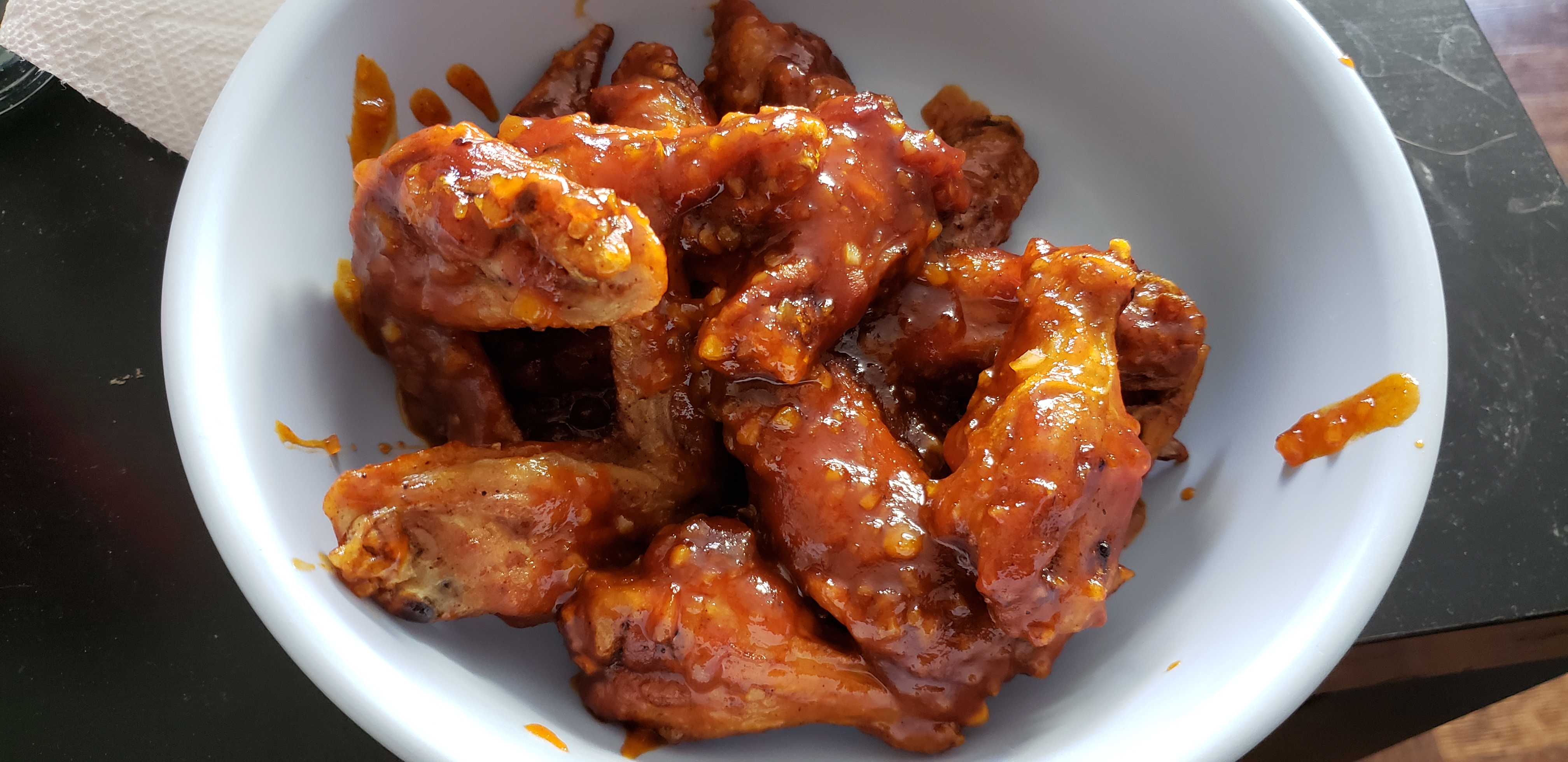 Sweet and Sticky Wings Benjamin Burke
