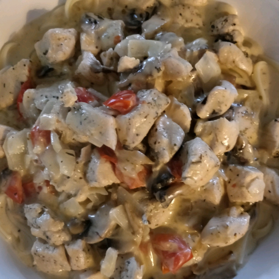 Chicken Fettuccini Alfredo Stacey Cody