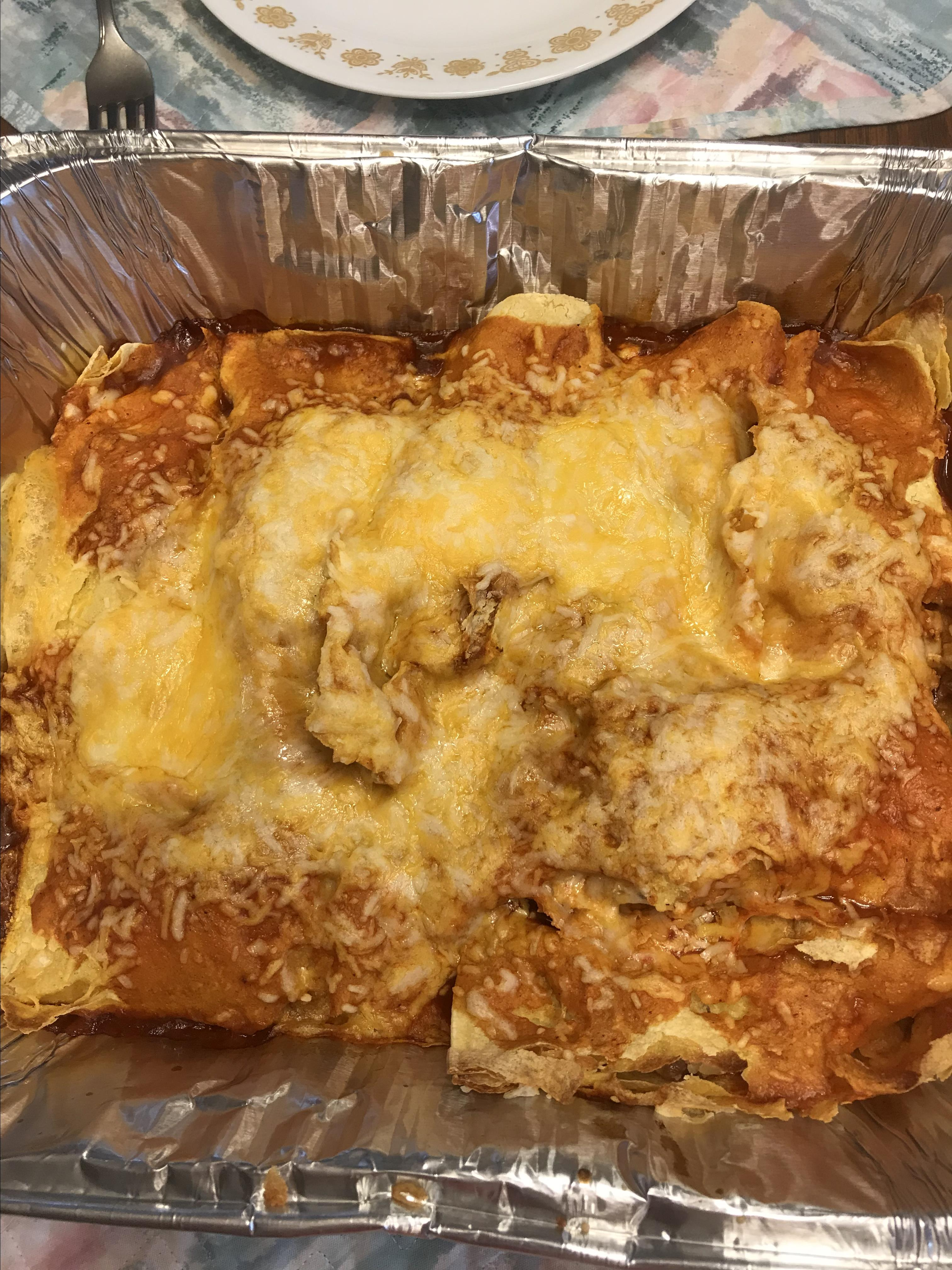 Bacon-Ranch Chicken Enchiladas Janet King-James