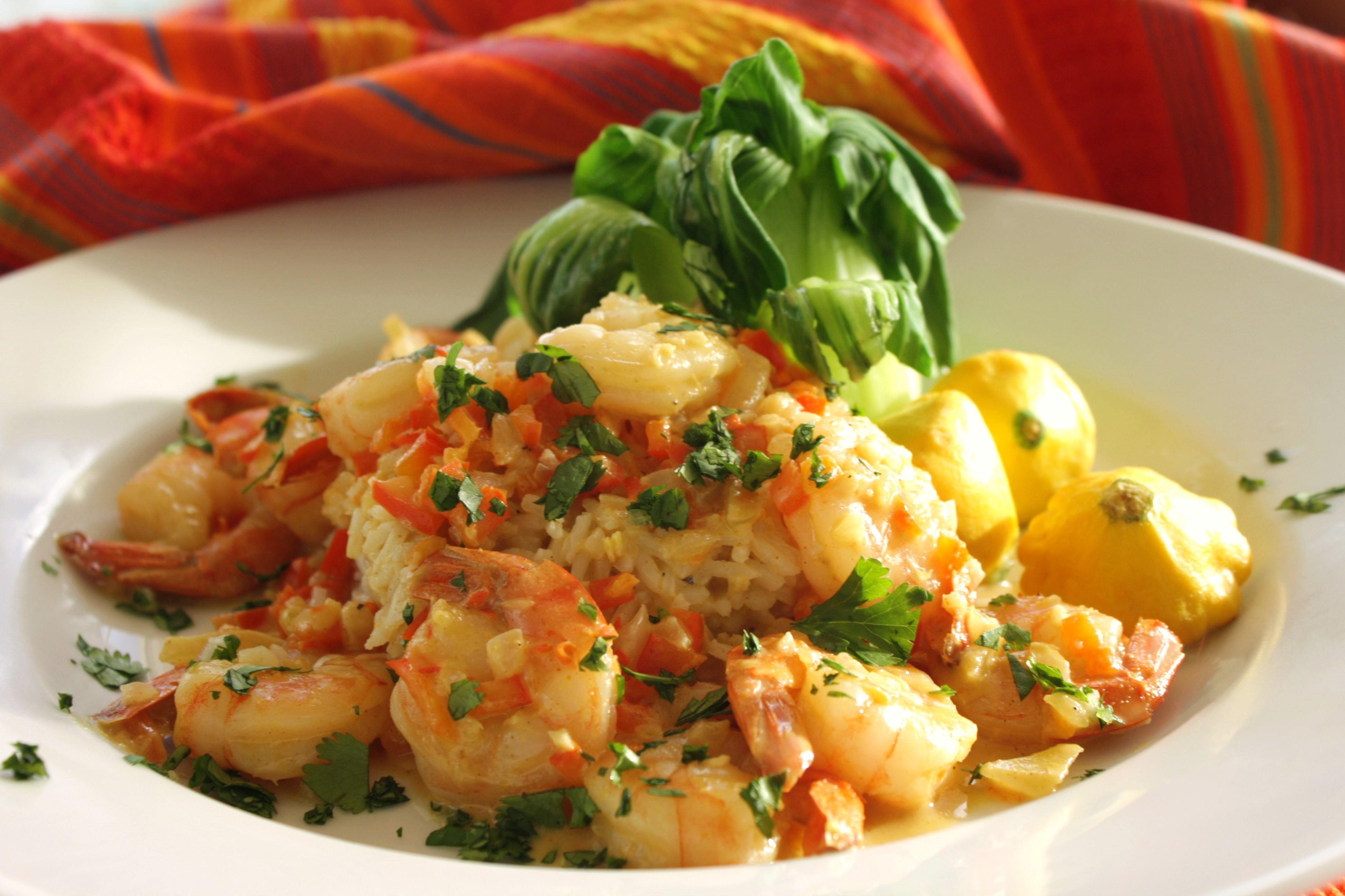 Curry-Coconut Shrimp_image