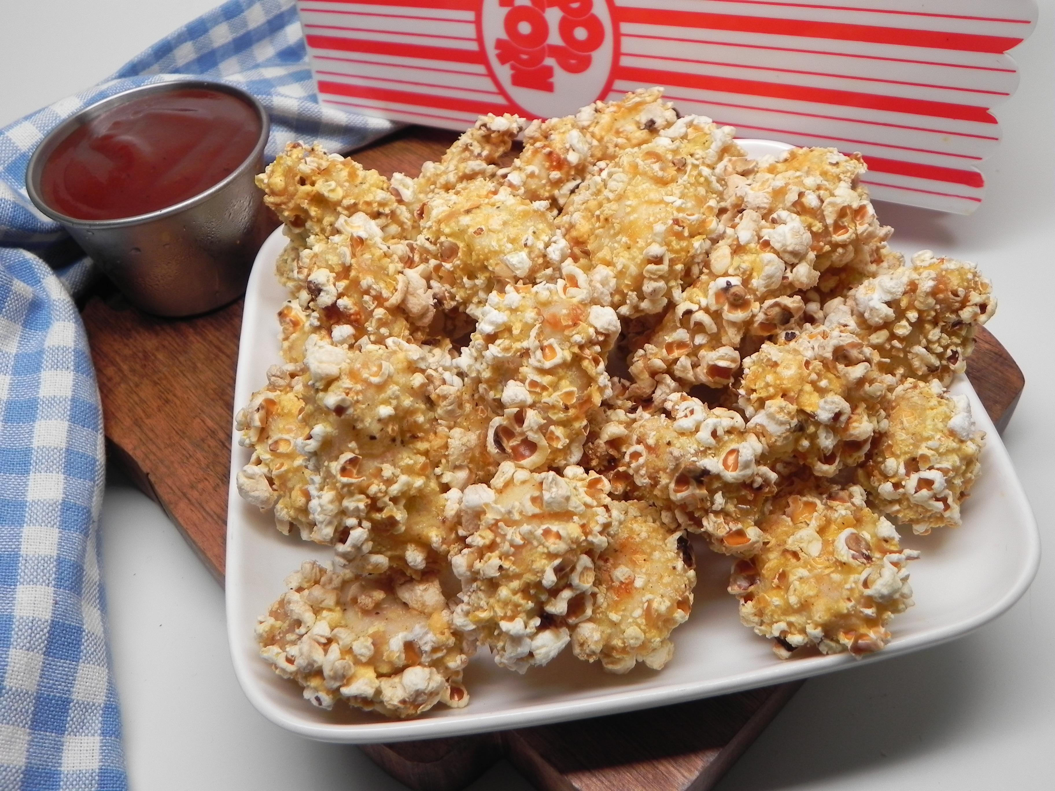 Air Fryer Popcorn-Crusted Popcorn Chicken Soup Loving Nicole