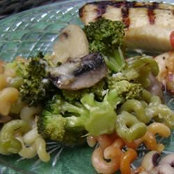 Cavatelli, Broccoli and Mushrooms