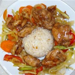 Orange Chicken Stir Fry Rebecca Milan
